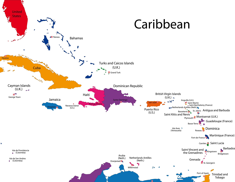 Map-Caribbean